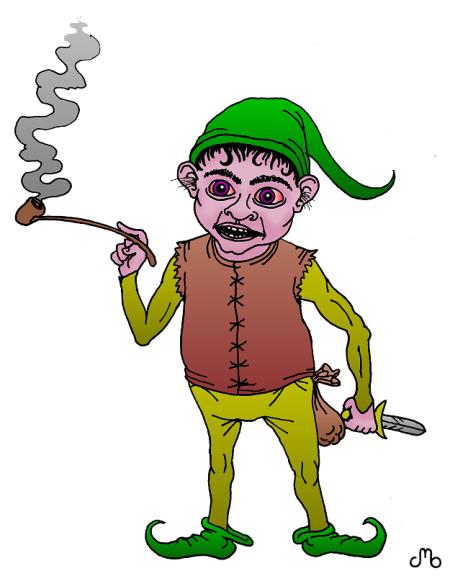 Creepy Gnome