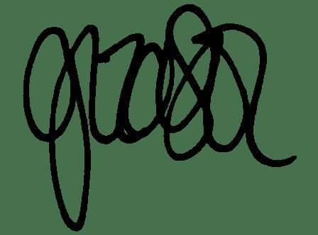 GG Text Logo Black