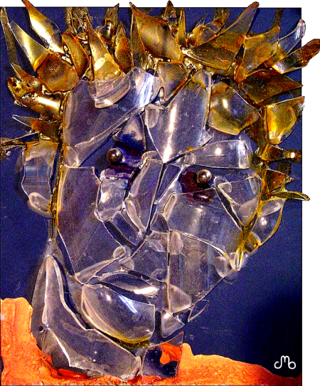 Self Portrait Glass