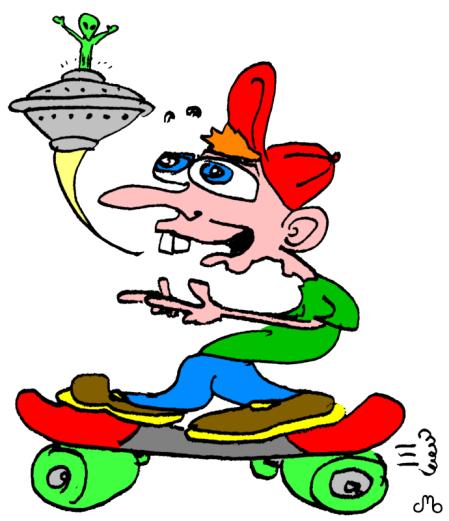 Skateboard Dude