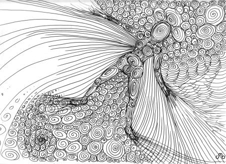 Swirly Person
