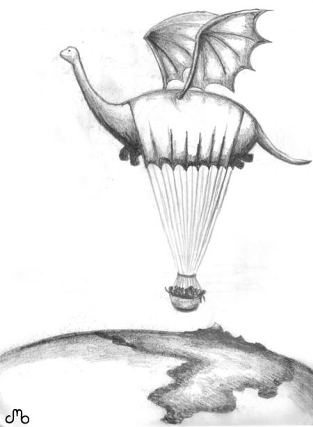 Flyin Dino